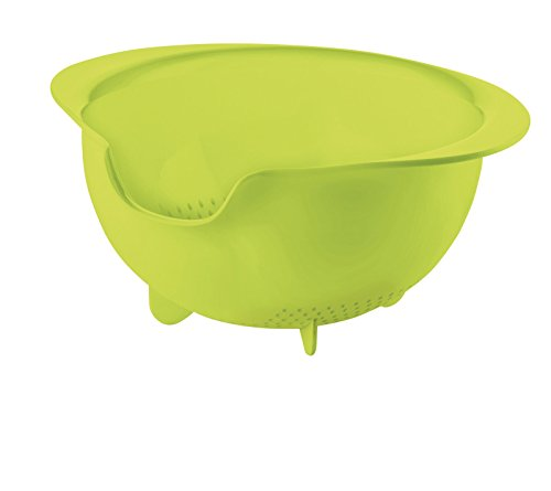 Fratelli Guzzini 2995.0084, Easy Payment Strainer, Green