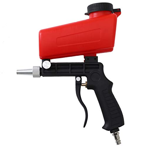Sandblaster Sand Blaster Gun Kit - Adjustable Pneumatic Sandblaster for Air Compressor