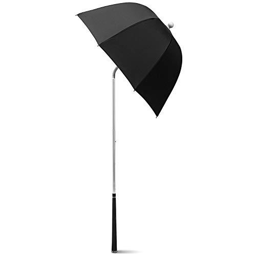 G4Free Golf Bag Umbrella for Club Protection Flex Umbrella (Black)