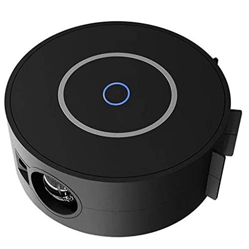 SMDMM Proyector Estrella Proyector de luz Nocturna con Control WiFi Bluetooth para Dormitorio de niños y Adultos/Cine en casa Negro