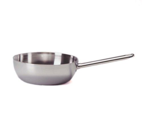 Demeyere Conical Sauté Pan kookpan 24 cm) zilver