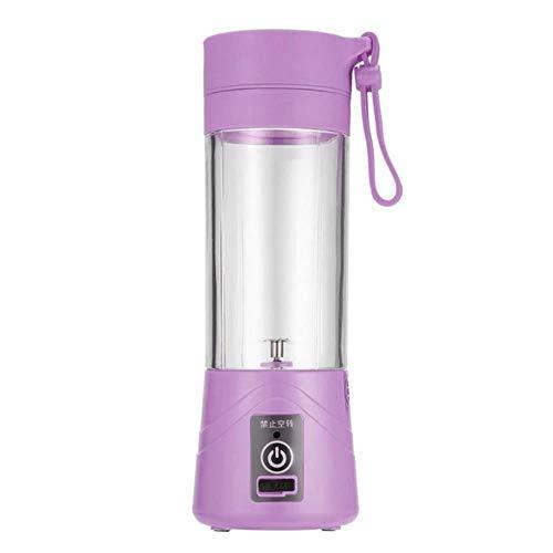 Vaso exprimidor USB, batidora de frutas, batidora eléctrica portátil de tamaño personal, licuadora, botella de agua de 380 ml con USB nuevo, ZM529300