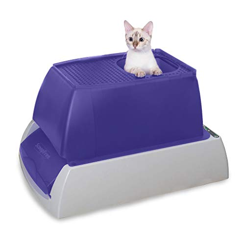 PetSafe ScoopFree Ultra Self-Cleaning Top-Entry Cat Litter Box - Automatic with Crystal Litter Disposable Tray