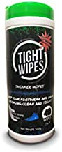 Tight Wipes Sneaker Shoe Cleaner Wipes for All Sneakers and Shoes (40 Wipes) Quick Sneaker Shoe Cleaning All The Way