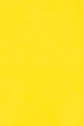 20 x Blatt 250g Gelb Tonkarton DIN A4 210x297mm Burano Giallo Zolfo - ideal für Karten, Scrapbooking, Basteln und Dekorieren mit Papier, Einladungen, Kunst und Handwerk