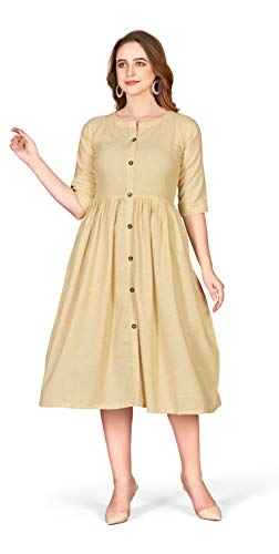 Lakaala Women's Knee Length Dress