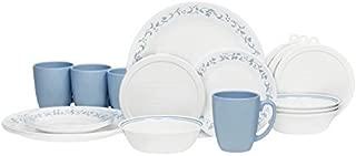 Corelle Livingware 32-Piece Country Cottage Dinnerware Set,Service for 8 by Corelle Coordinates