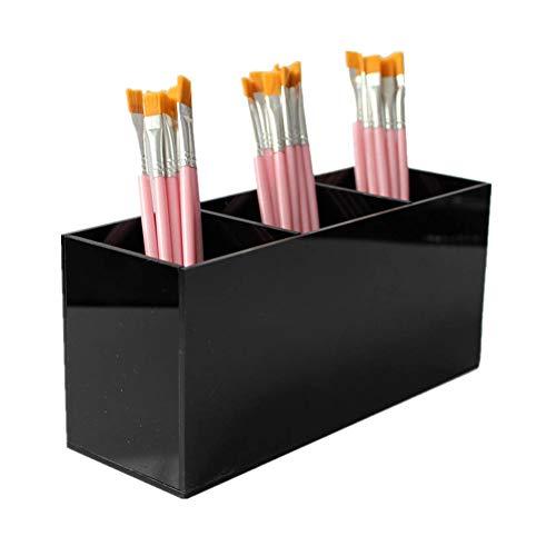MEISISLEY Organizador de Maquillaje Cajas para Maquillaje Organizador de Caja de Maquillaje Maquillaje Organizador de Maquillaje, Bandeja Black
