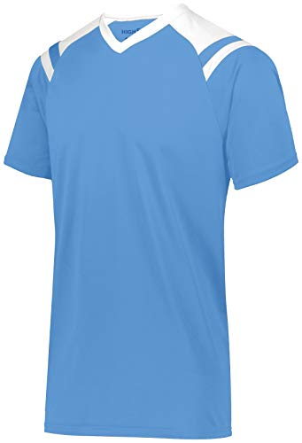 HIGH 5 Men's Sheffield Jersey, Columbia Blue/White, XL