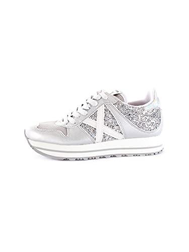 MUNICH Massana Sky 147 Sneaker Donna Silver Glitter 8810147