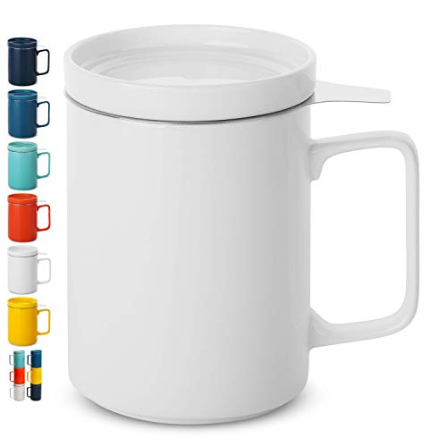 BTaT - Tea cups with infuser (White)