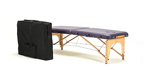 Best Review Of 185cm * 70cm Bed + Bag Adjustable Body Body Portable Folding Massage Table Beech Massage Table-Purple