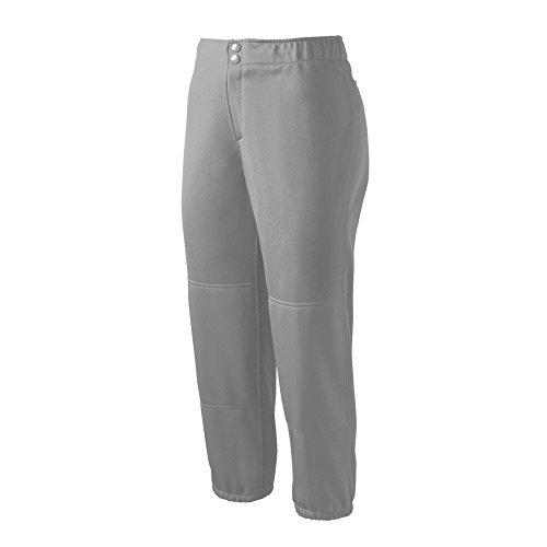 Mizuno Select Non-Belted Low Rise Fastpitch Hose, Damen Herren, grau