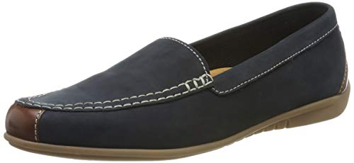 Gabor Shoes Damen Jollys Slipper, Blau (Nightblue/Coca 16), 38.5 EU