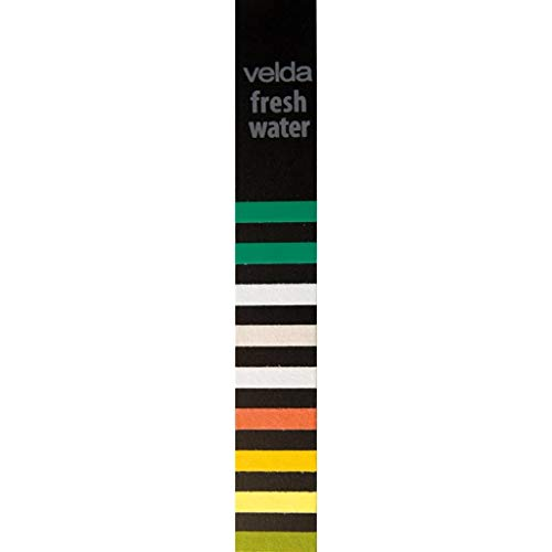 Velda 25x Freshwater Indicators for AquaTesterPro Water Analyser Indicator Full Range Strips PH GH KH TA NO2 NO3 Cl2 CO2 Aqua Test Indicators