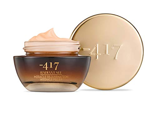 -417 Dead Sea Cosmetics MiracleI Rejuvenation Wrinkle Filler With JoJoba Oil & Collagen for Instant Visible Lifting and Smoothing - 100% Vegan Radiant See Collection 1 oz.