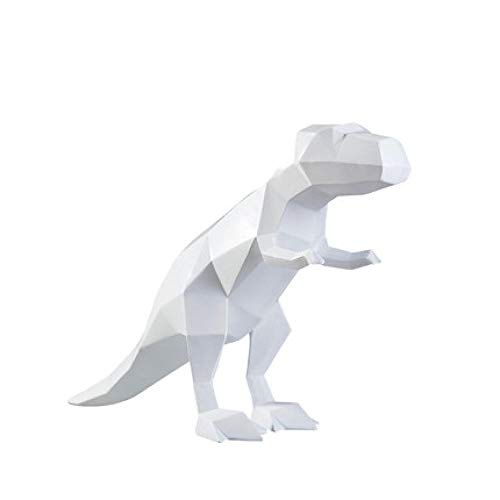 LJXLXY Decoración Manualidades Origami Tyrannosaurus Rex Dinosaurio Decoración Hogar Sala de Estar Mueble de TV Vinoteca