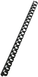 LEITZ 37580 - Canutillos de plástico DIN A4 21 anillas. (