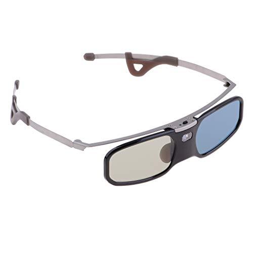 Generic DLP LINK 144 Hz HD 1er Pack 3D Wiederaufladbare 3D Shutterbrille RX 30 - Schwarz