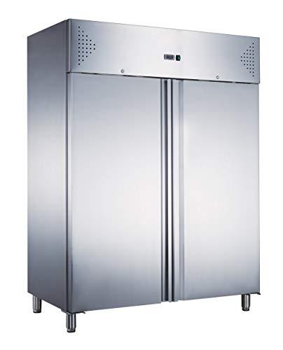Armadio congelatore refrigerato in acciaio inox 2 ante 1400 lt, ventilato -18-2