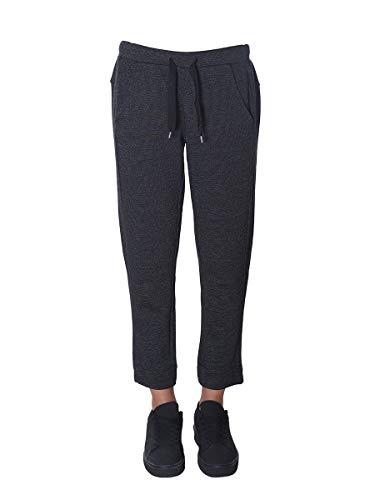 FREDDY Pantalon Long en Molleton Trame en Relief - Salt-Pepper Dark - Large