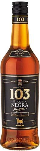 Osborne 103 Etiqueta Negra Brandy de Jerez Solera Reserva 6 x 0,7 L. - Osborne
