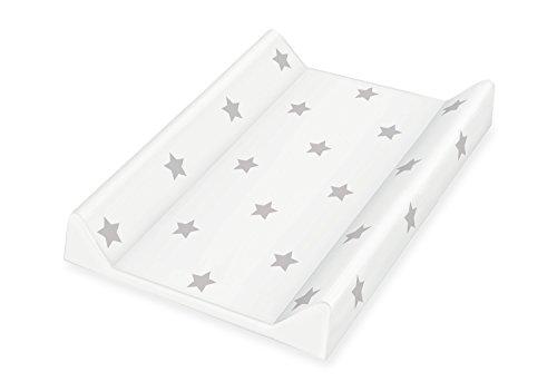 Pinolino Cambiador 72022-8 de lámina, diseño de estrellas, color gris