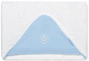 Bimbi Elite – Maxicapa, 100 x 100 cm, couleur blanc et bleu