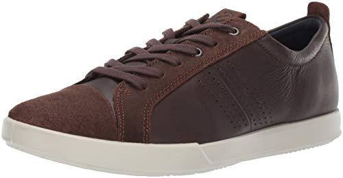ECCO Men's Collin 2.0 Trend Sneaker, Coffee/Coffee, 8-8.5