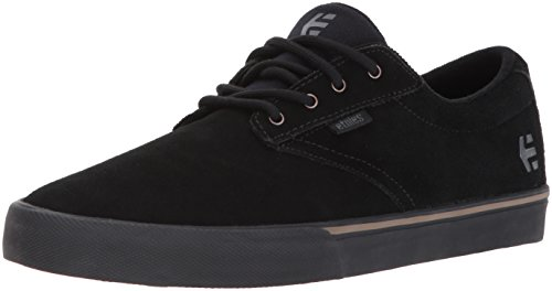Etnies Men's Jameson Vulc Skate Shoe, Black/Black/Gum, 8 Medium US