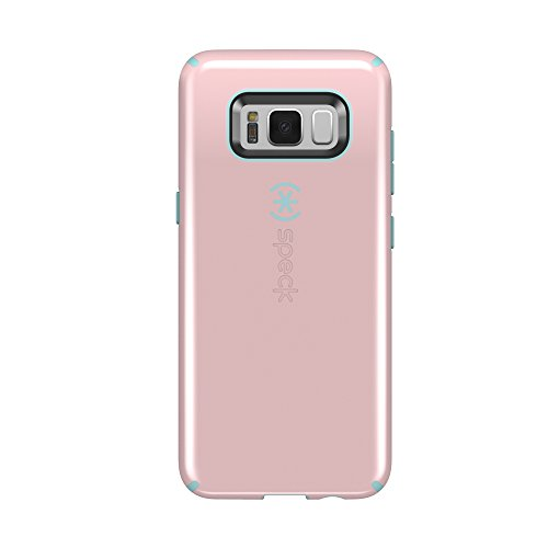 Speck Products (90210-C085) CandyShell Cell Phone Case for Galaxy S8 - Quartz Pink/River Blue