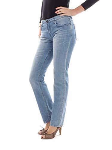 mazine Jeans Freizeithose Longpant blau La Silbadora 5-Pocket Regular (W28/L32)
