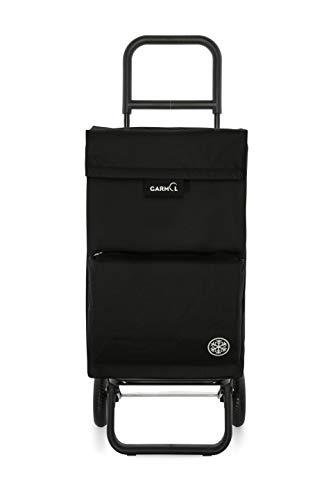 Garmol Einkaufstrolley 56L Schwarz