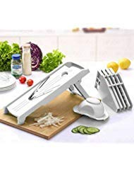 Mandoline Slicer w/ 5 Adjustable Blades - Vegetable Slicer -...