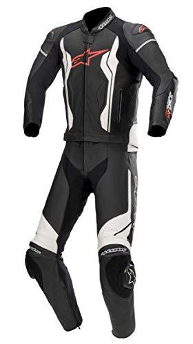 Alpinestars GP Force 2-Teiler Motorrad Lederkombi Schwarz/Weiß 54