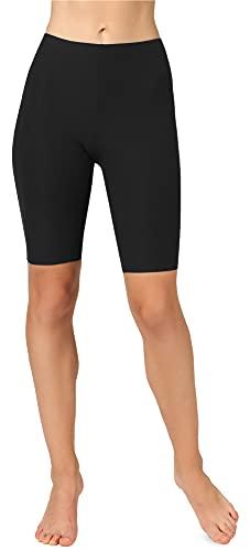 Merry Style Leggins Mallas Deportivas Cortos Mujer MS10-350 (Negro, L)