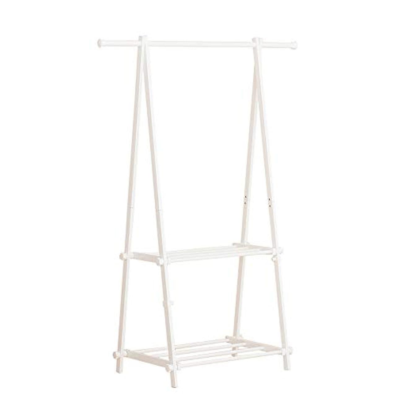 NOBLJX 2-Tier Garment Rack, Clothes Coat Rails Shoe Rack, Metal Multi-Purpose Storage Organization Shelves for Home Office Hallway Bedroom