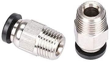 Buena estabilidad Accesorios Impresora 3D Piezas V6 Conectores Neumáticos Tubo 1.75mm Filamento para J-Head V6 Extrusora Reemplazar Dañado