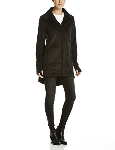 Bench Damen Returning, Fleecejacke, Schwarz (Black BK014), X-Small