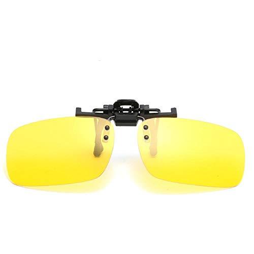 Gafas de Sol Sunglasses Gafas De Sol De Conducción Polarizadas Clip HombresGafas De Sol De DiseñadorLente Visión Nocturna Retro Exterior C4Nightvision