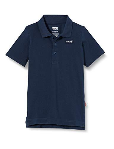 Levi's Kids Lvb Back Neck Tape Polo Camiseta Dress Blues para Niños