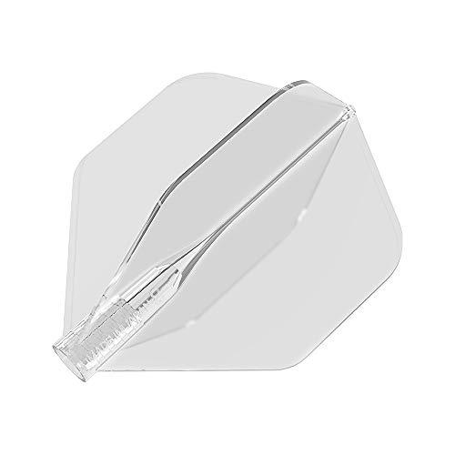 8 Flight Dart-Schäfte geformtes Flugsystem, transparent, Nr. 2