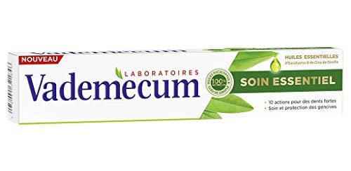 Vademecum Zahnpasta Essential Care Ätherische Öle Eukalyptus Clove 75ml (Satz 4) 1