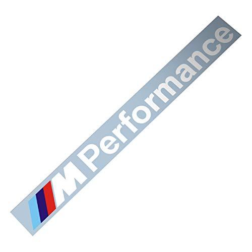 Demupai Windschutzscheibe Banner Vinyl Aufkleber für M Performance (Old Font)