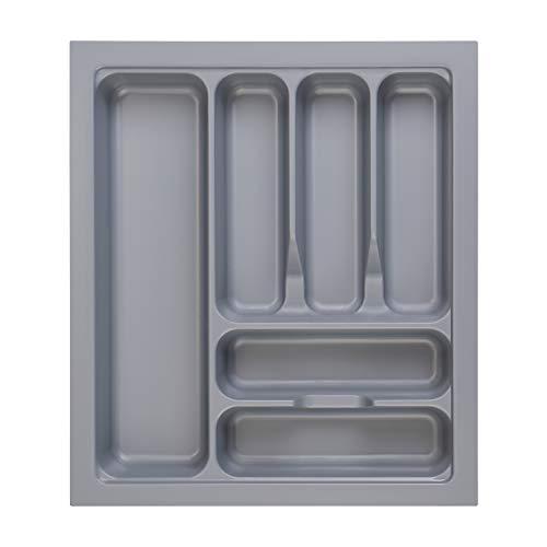 RH Art Besteckkasten für Schubladen 50er Besteckeinsatz Küche aus Kunststoff Spülmaschinenfest 417 x 474 mm