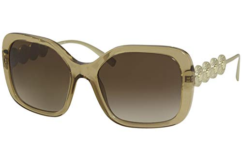 Versace Gafas de Sol SIGNATURE MEDUSA VE 4375 LIGHT BROWN/BROWN SHADED 53/18/135 mujer