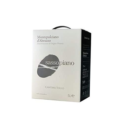 Rotwein Italien Montepulciano d´Abruzzo Sassopiano Bag in Box trocken (1x5L)