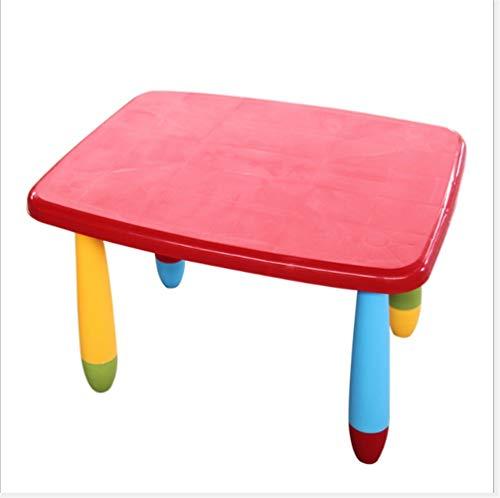 Xiaatin tafel, kleuterschool, kleurrijk, bureau, kunststof, voor kinderen, geschikt voor thuisgebruik