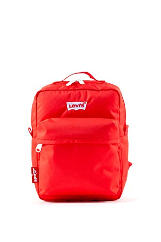 Levi's Damen The L Pack Baby-600d Rucksack, Rot (Brilliant Red), 10x21x28 centimeters