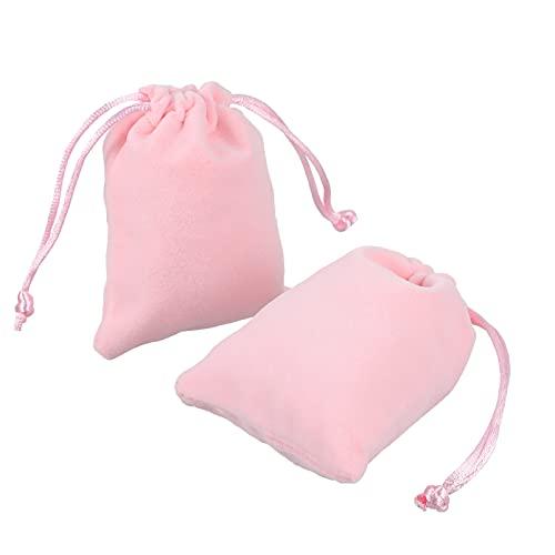 UKCOCO 25 Piezas Joyas Pequeñas Bolsas con Cordón Bolsas de Joyería para Boda Bolsas de Dulces para Fiestas Bolsas de Relojes Bolsas de Embalaje 8X10CM